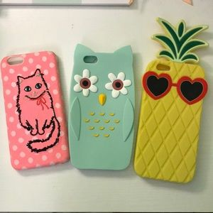 3 pack iPhone cases